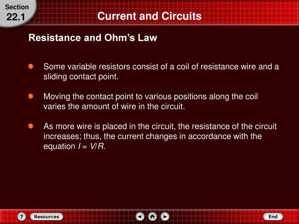Current Electricity 22 In This Chapter You Will Ppt Download Variable Resistors Can Also Be Used To Vary The A Circuit 31