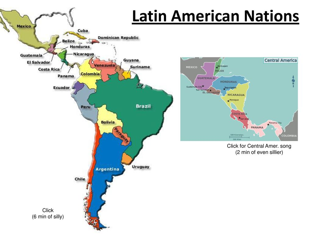 Latin America Map Song.Latin American Introduction And Geography Ppt Download