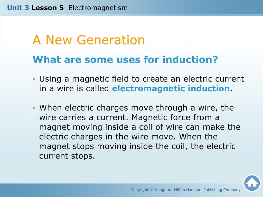 Unit 3 Lesson 5 Electromagnetism - ppt download