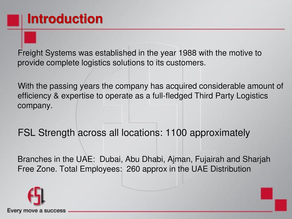 FREIGHT SYSTEMS Employee Orientation  - ppt download