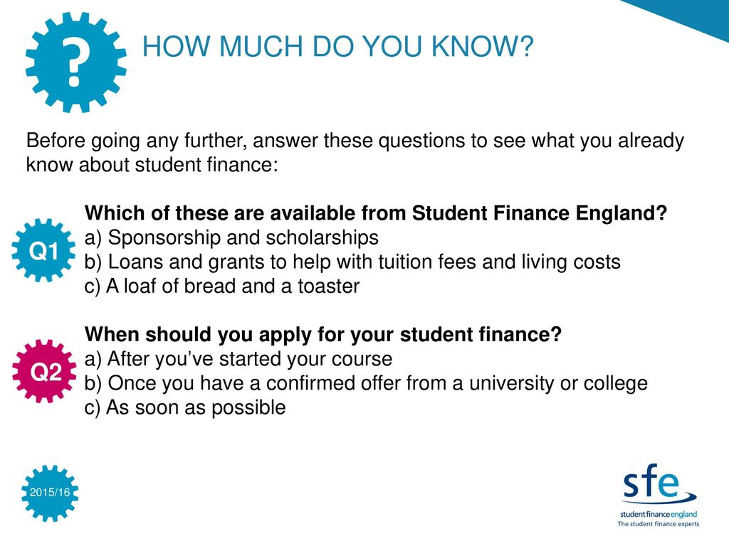 INTRODUCTION TO STUDENT FINANCE INFORMATION & ACTIVITES - ppt download