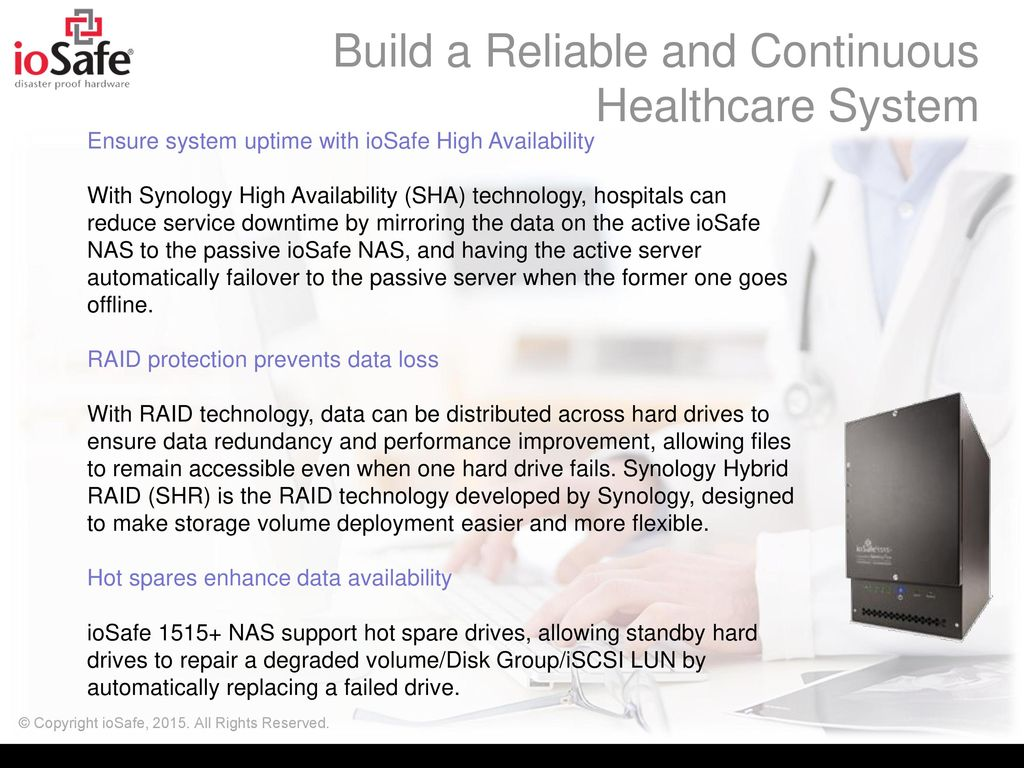 Disaster-proof Storage for Health Care - ppt video online download