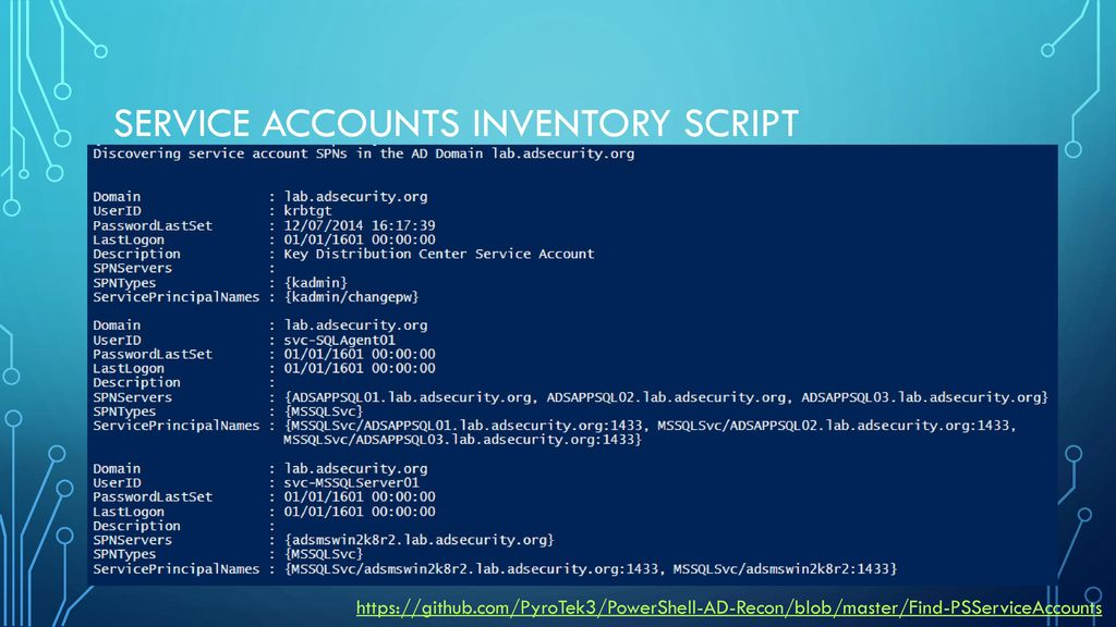 Mastering Active Directory with PowerShell - ppt download