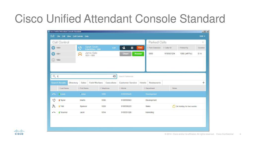 Cisco unified enterprise attendant console (cueac) 8. 5 setup part.