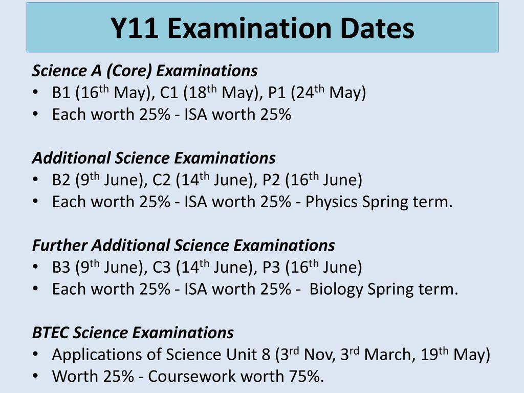 Y10 and Y11 Parent Forum Science GCSE - AQA - ppt download
