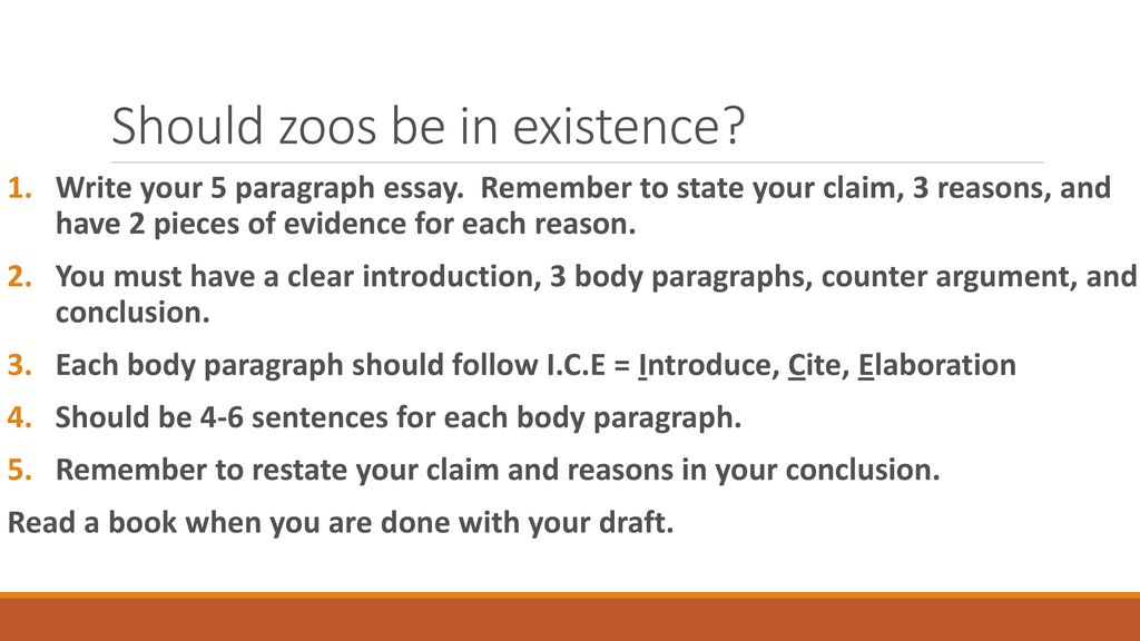 should zoos exist essay