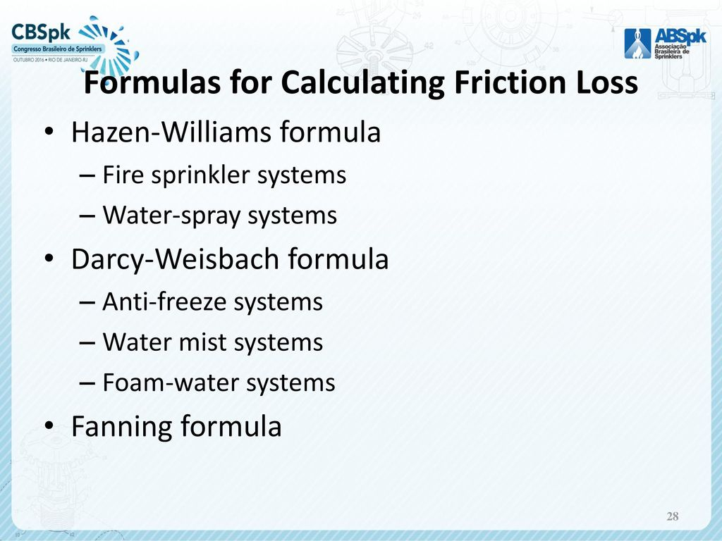 Hydraulics For Fire Protection Ppt Download