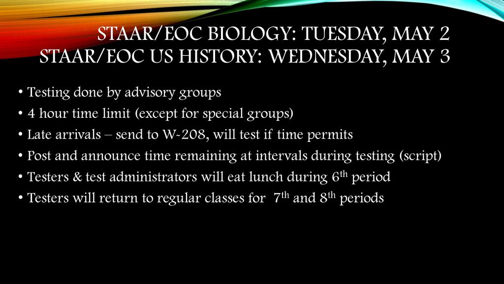 Wednesday may 3 us history ppt download staareoc biology tuesday may 2 staareoc us history wednesday fandeluxe Images