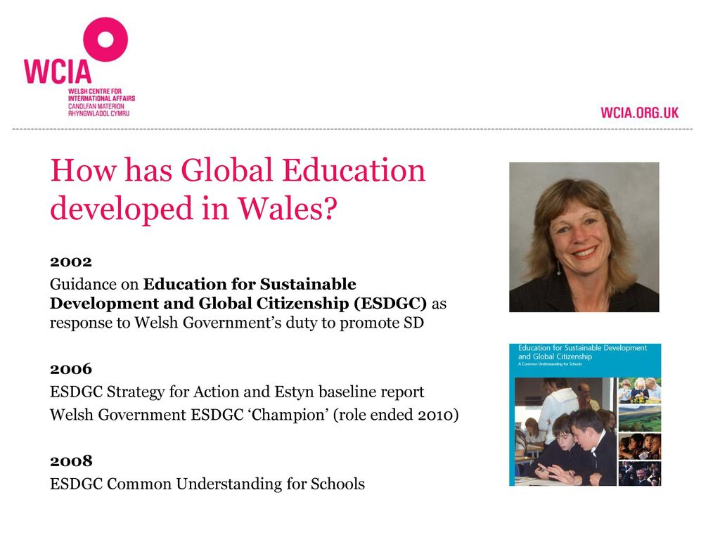 How has Global Education developed in Wales