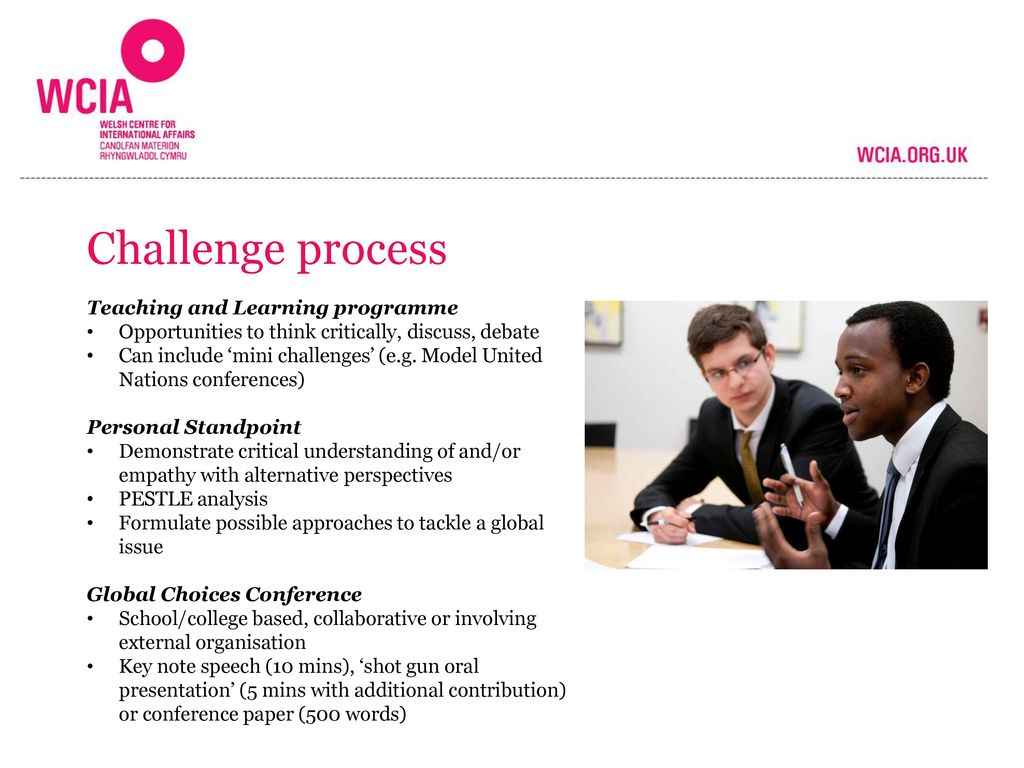 Challenge process Teaching and Learning programme