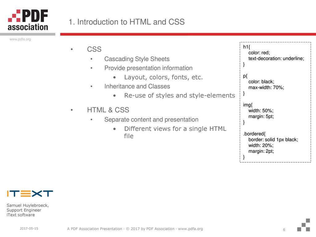 How HTML responsiveness translates to PDF - ppt download