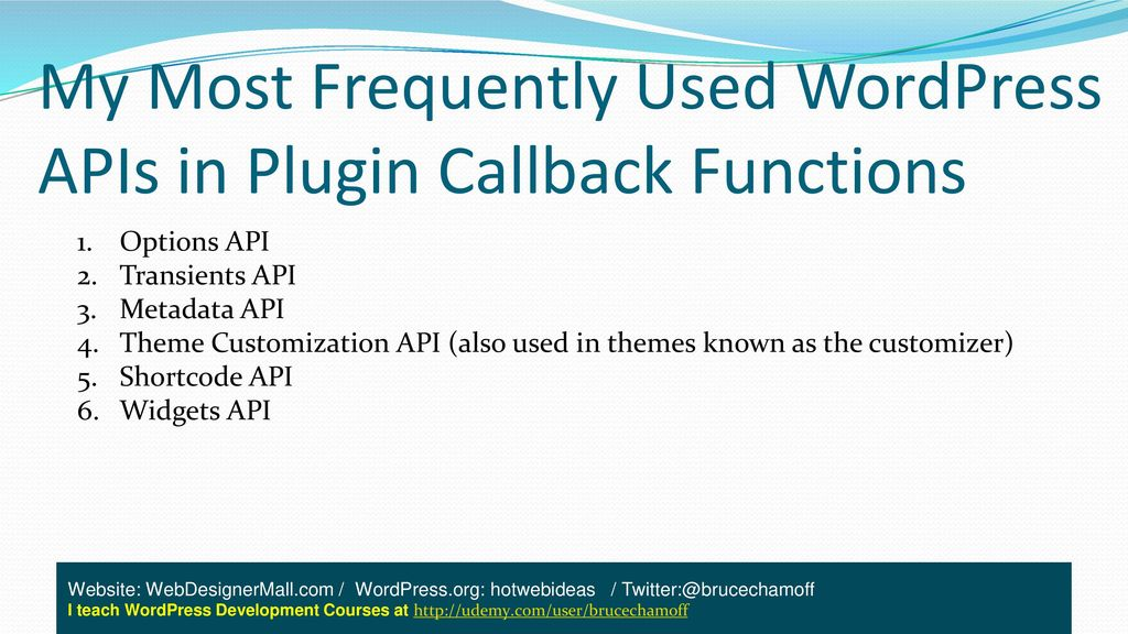 Introduction To Simple WordPress Plugin Development - ppt