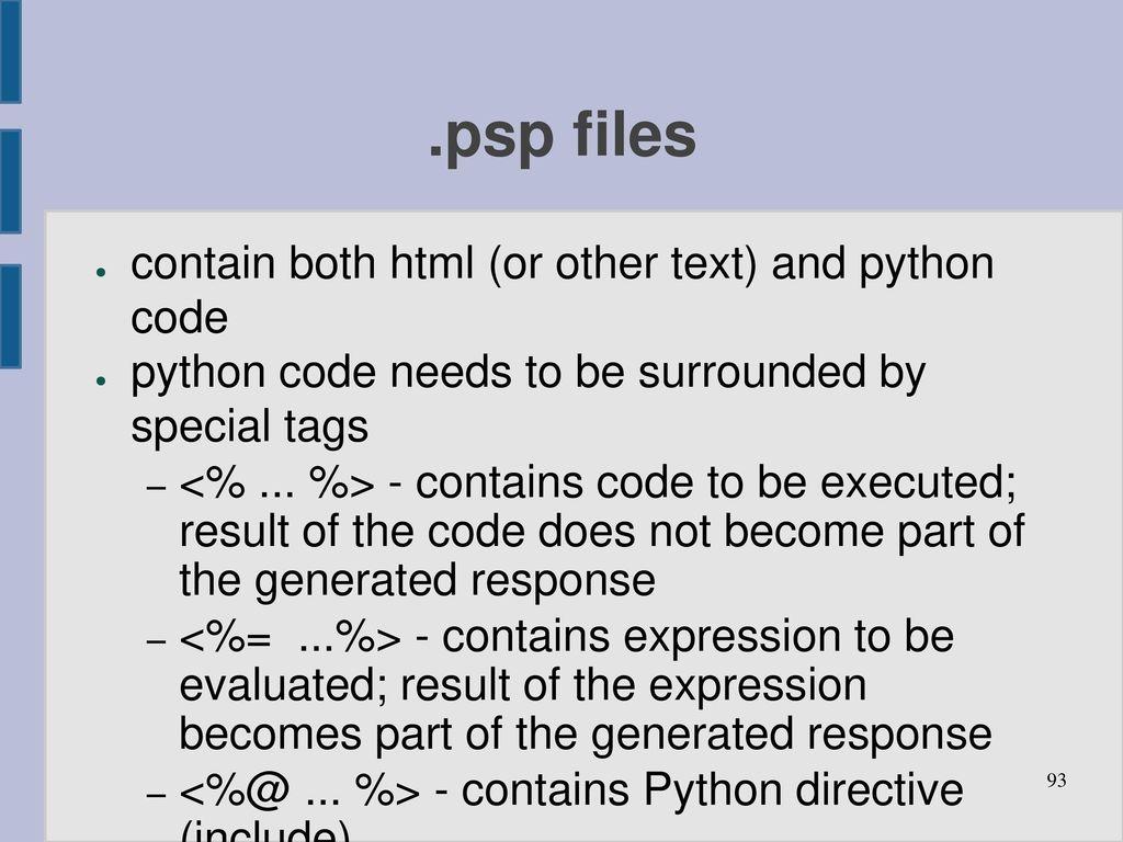 Python web programming - ppt download