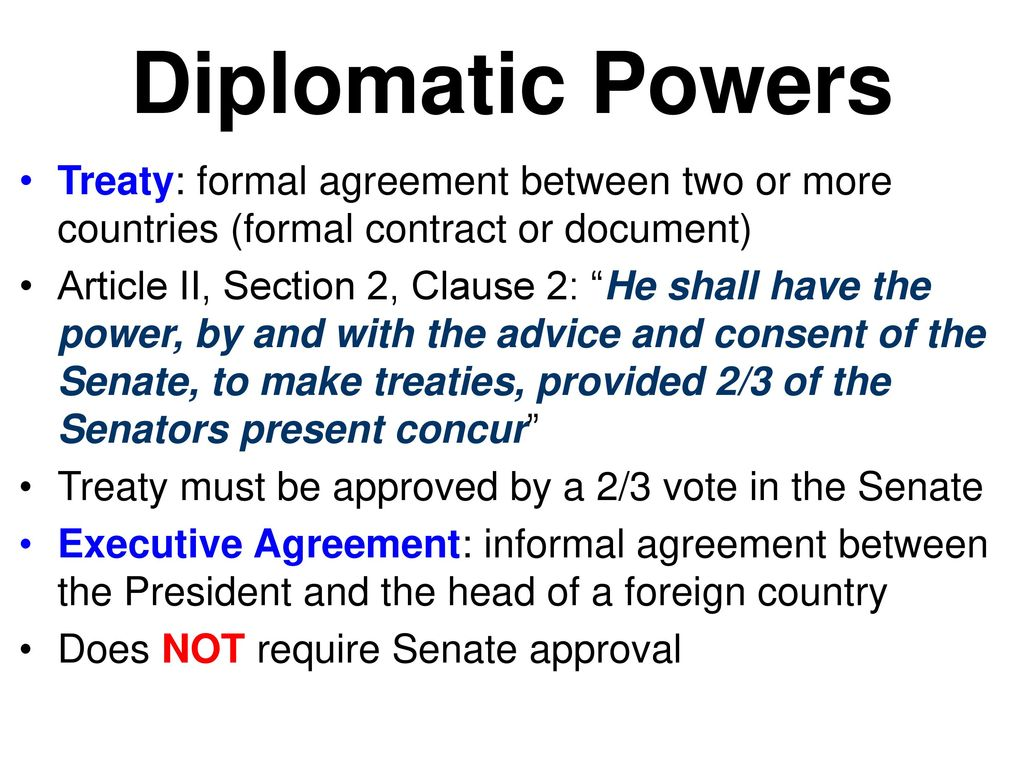 Presidential Powers Ppt Download