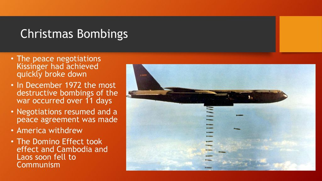 7 christmas bombings - Christmas Bombings