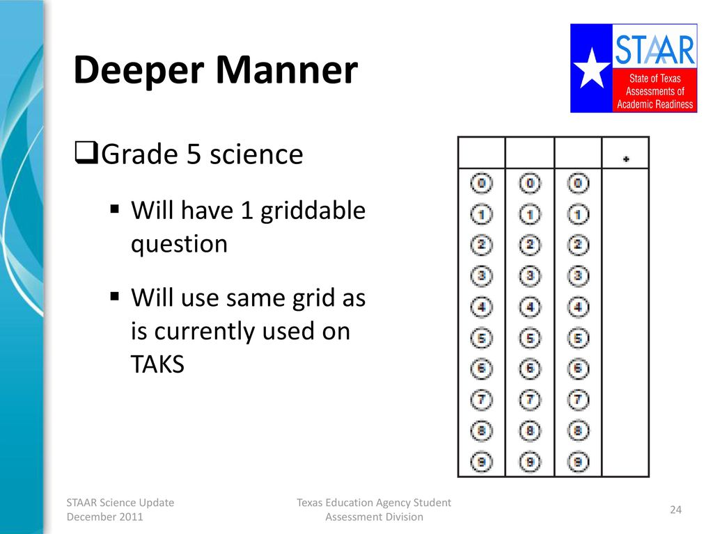 TEA Update on the STAAR Science Program - ppt download
