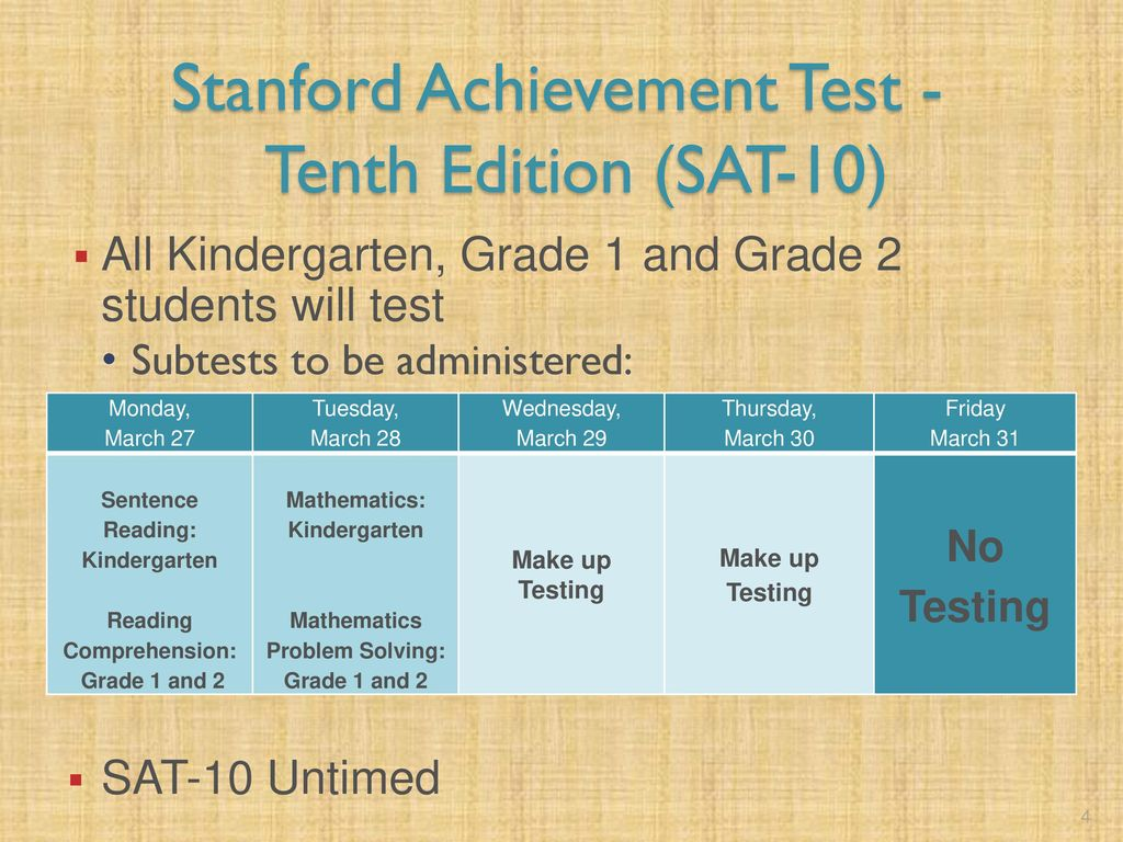 Monitor Training Spring 2017 Assessments. - ppt download