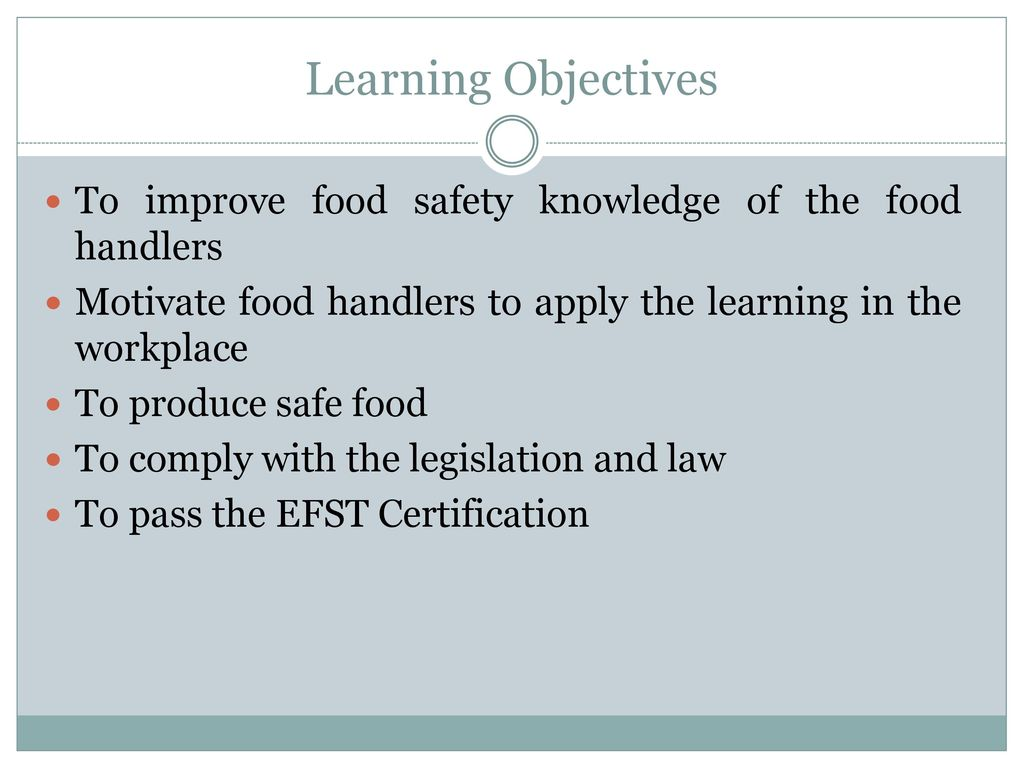 Essential Food Safety Training Ppt Video Online Download