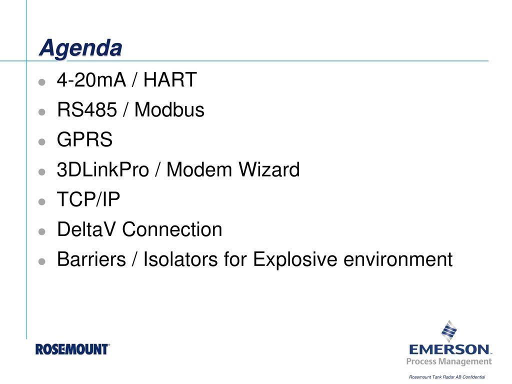 Communication Ppt Download Unitronics Rs485 Wiring Agenda 4 20ma Hart Modbus Gprs 3dlinkpro Modem Wizard