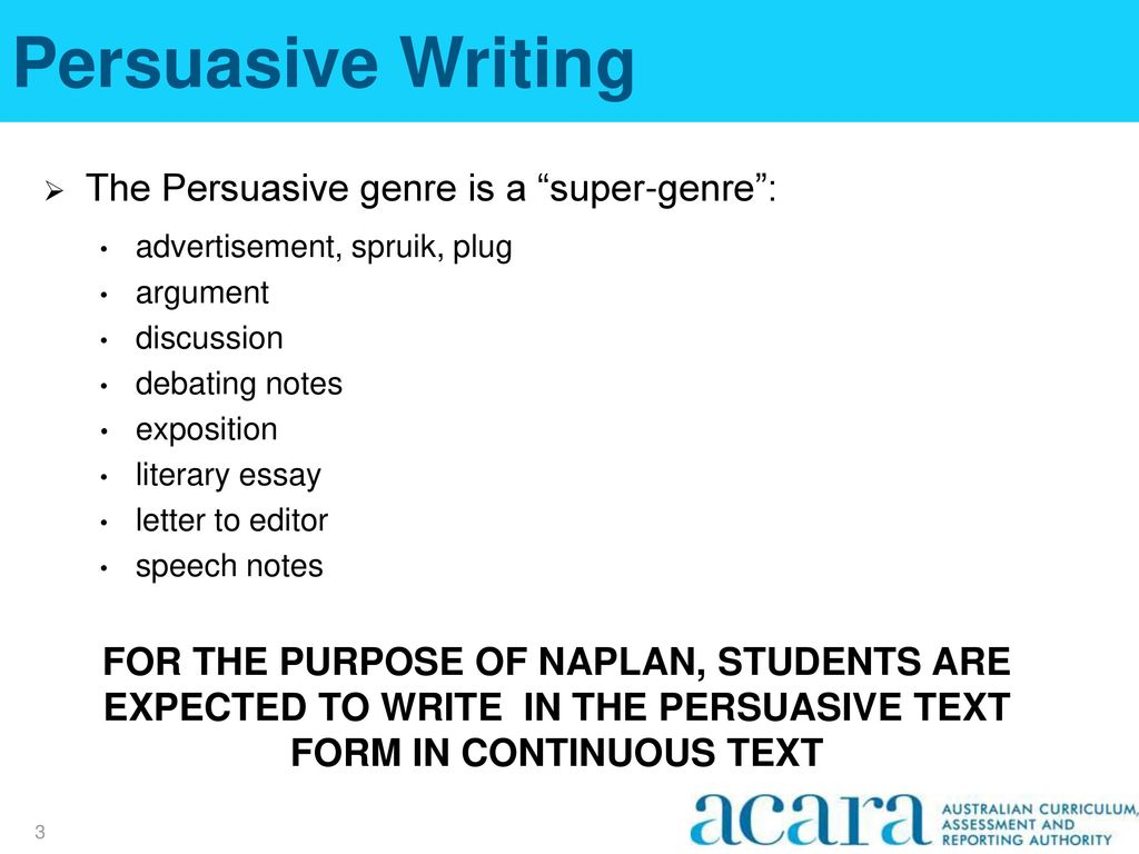 naplan persuasive writing resources Premium naplan activities are only available to paid members and registered schools login or create a free account to upgrade and access these resources and many more features.