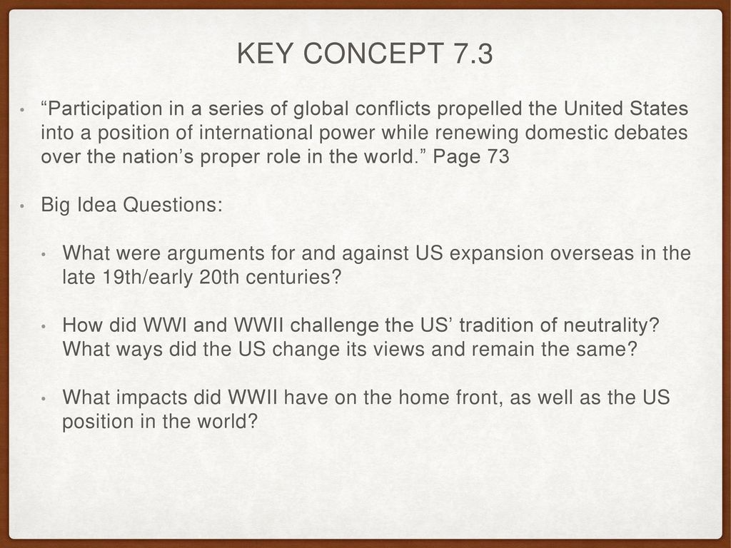 APUSH Review: Key Concept 7 3, revised edition - ppt video