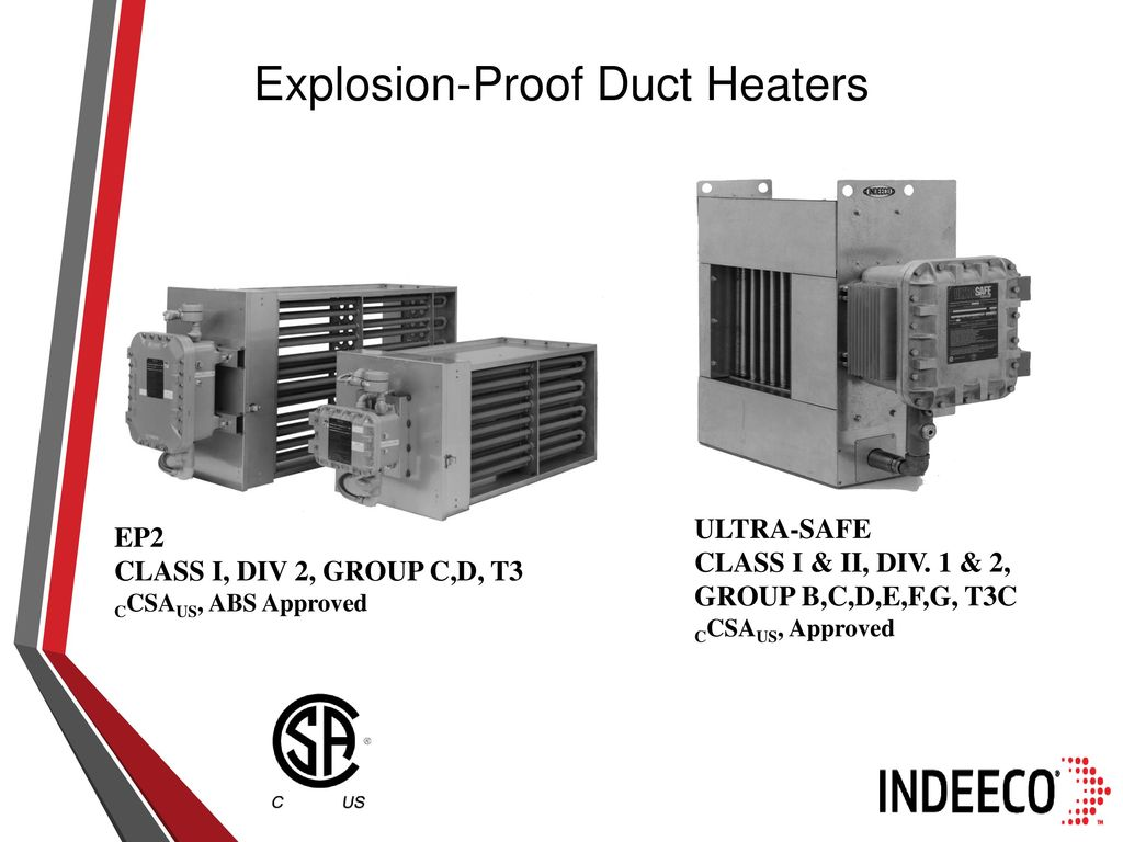 INDEECO ELECTRIC HEATERS FOR INDUSTRIAL APPLICATIONS - ppt
