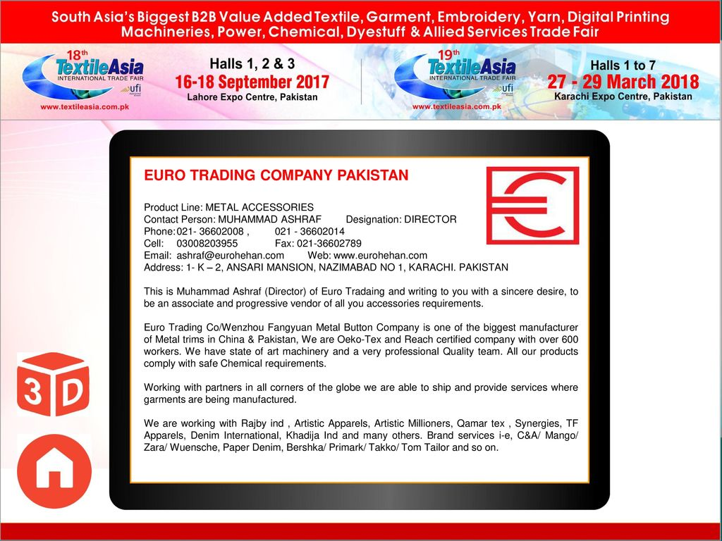 Organizer: Ecommerce Gateway Pakistan (Pvt) Ltd  , Tel - ppt