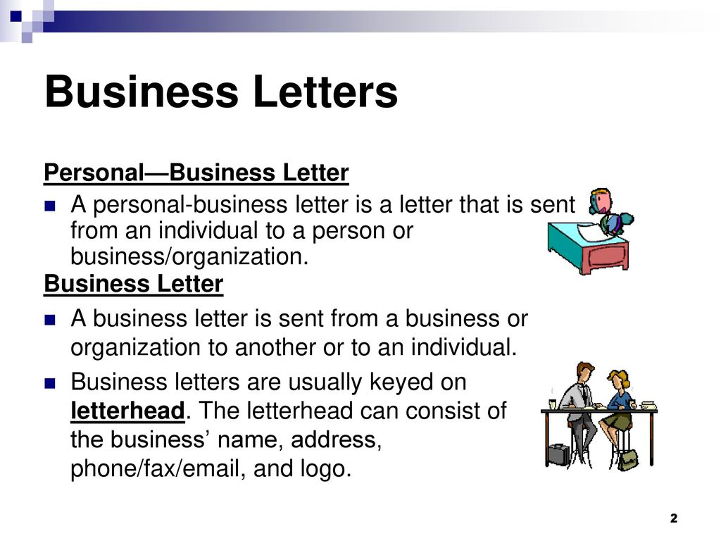 2 business letters personalbusiness letter