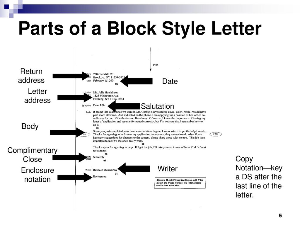 Apply Correct Letter Format  Ppt Video Online Download