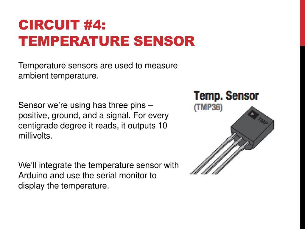 Microcontrollers Electronics Basics Or Ppt Download Temperature Sensing Circuit 57 4 Sensor