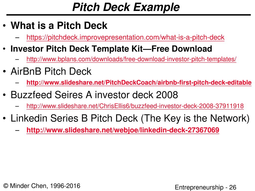 Developing A Business Plan Ppt Download - Airbnb pitch deck template