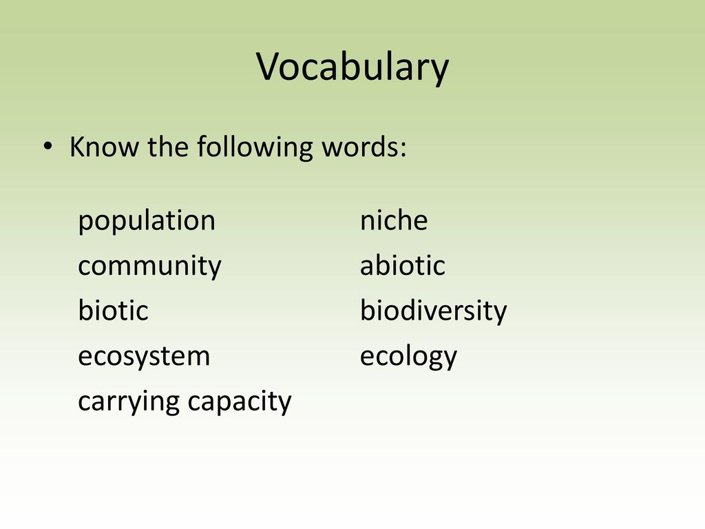 ... Study Guide KEY The Biosphere. 2 Vocabulary ...