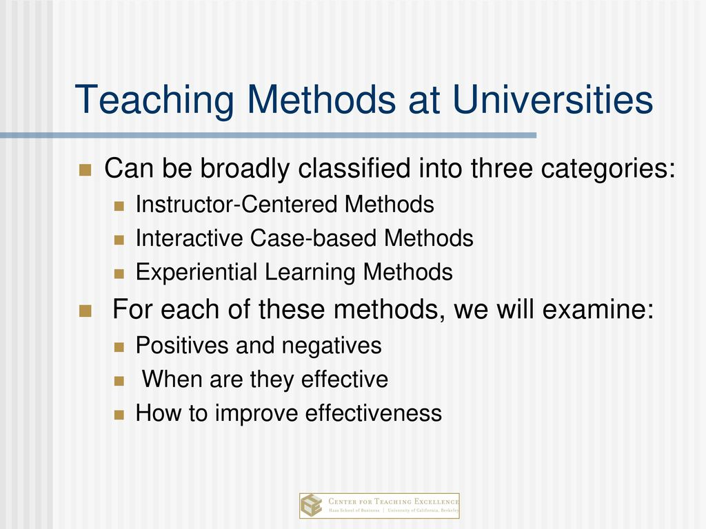 Interactive teaching methods and their effectiveness 39