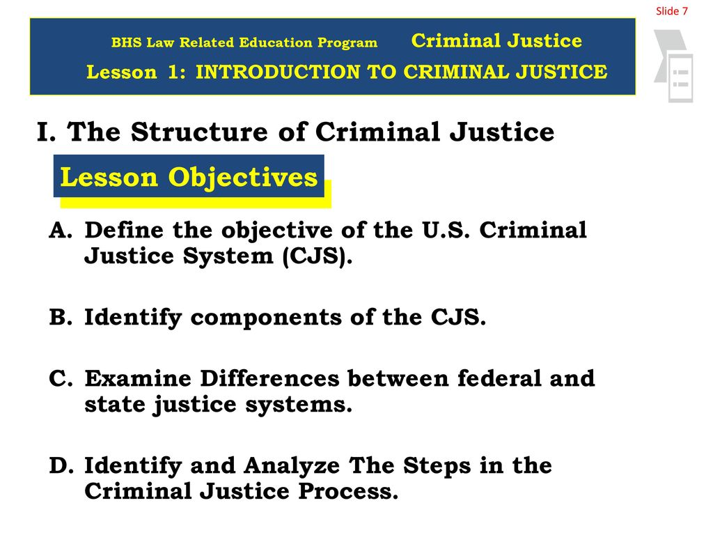 welcome to criminal justice - ppt download
