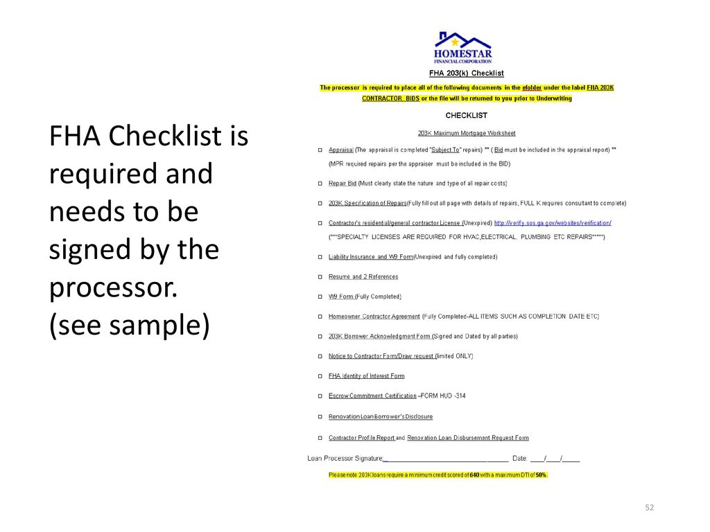 fha 203 k and 203 k limited instructions and procedures ppt download