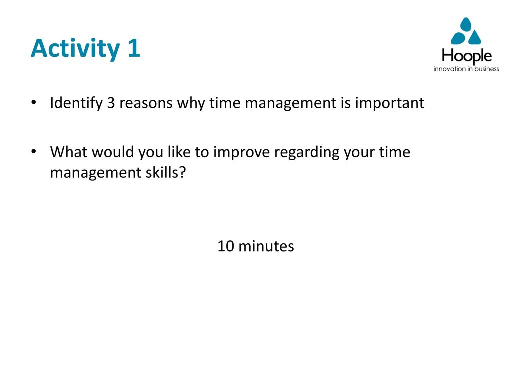 speech on importance of time management in students life