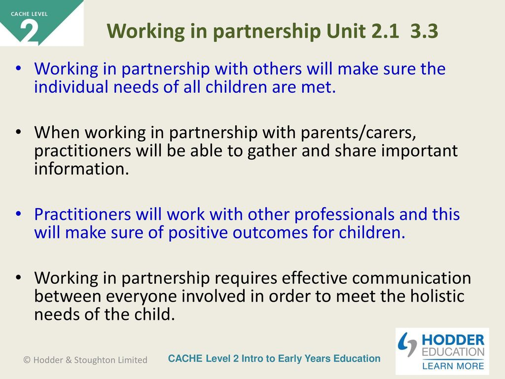 Eyfs working in partnership with other professionals dating