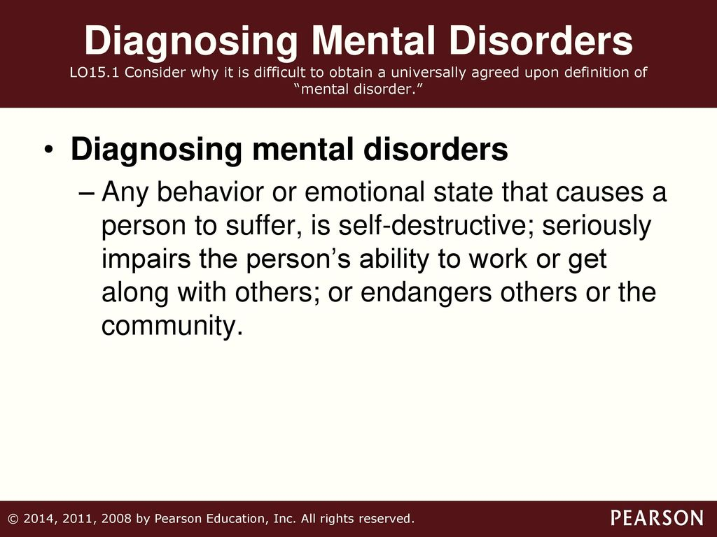 15 psychological disorders. - ppt download