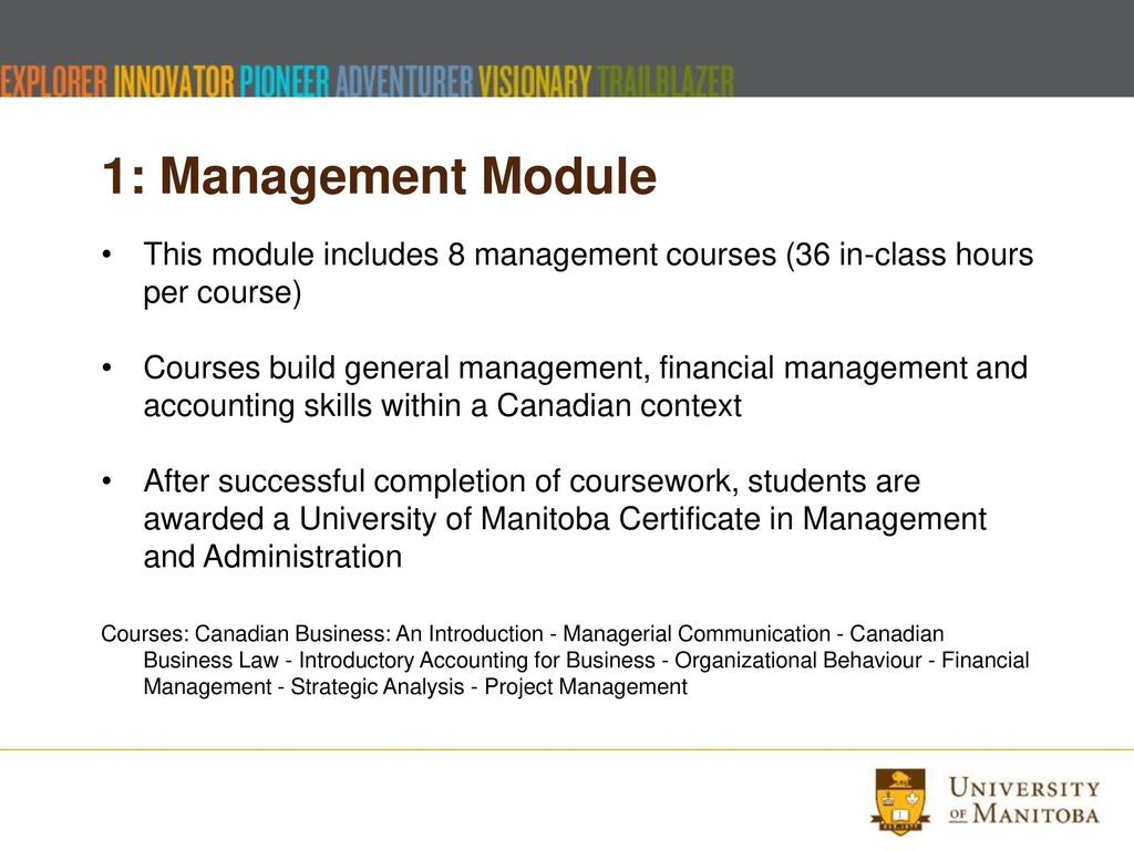 Applied Business Management Program Ppt Download