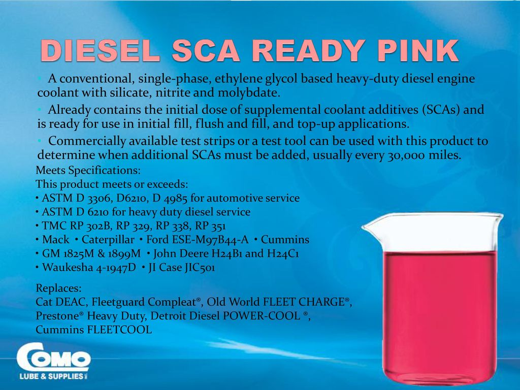 From Ethylene to Automotive Coolants Como Lube & Supplies