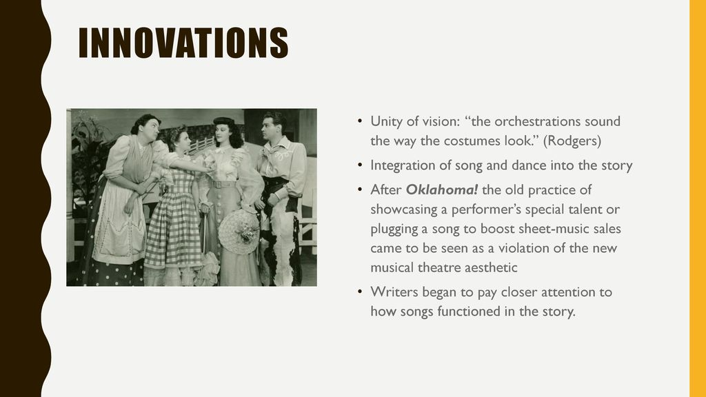 Oklahoma! And The Integrated Book Musical - ppt download