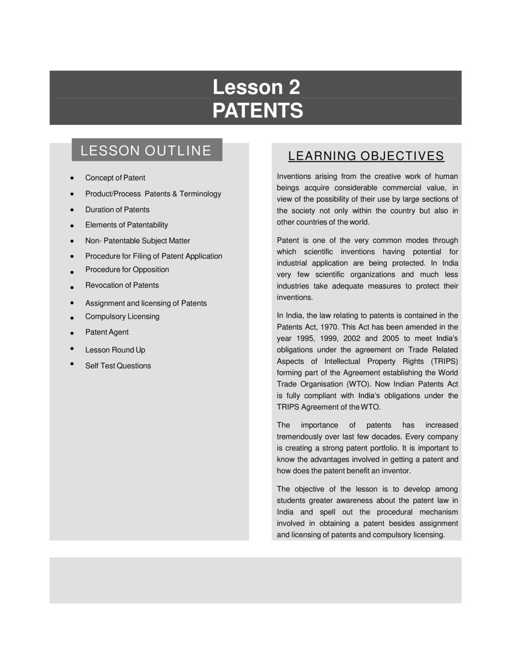INTELLECTUAL PROPERTY RIGHTS-LAW AND PRACTICE - ppt download