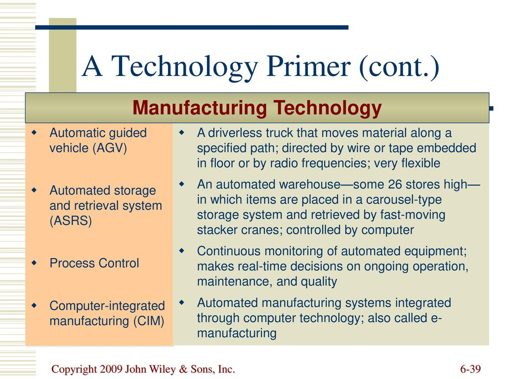 Processes and Technology - ppt download