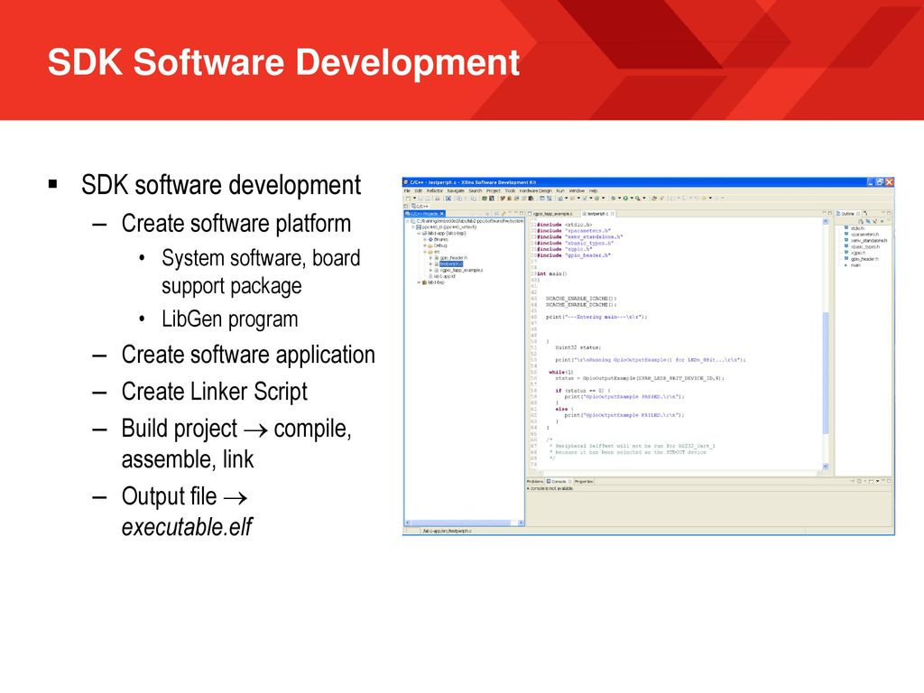 Embedded Design with the Xilinx Embedded Developer Kit - ppt download