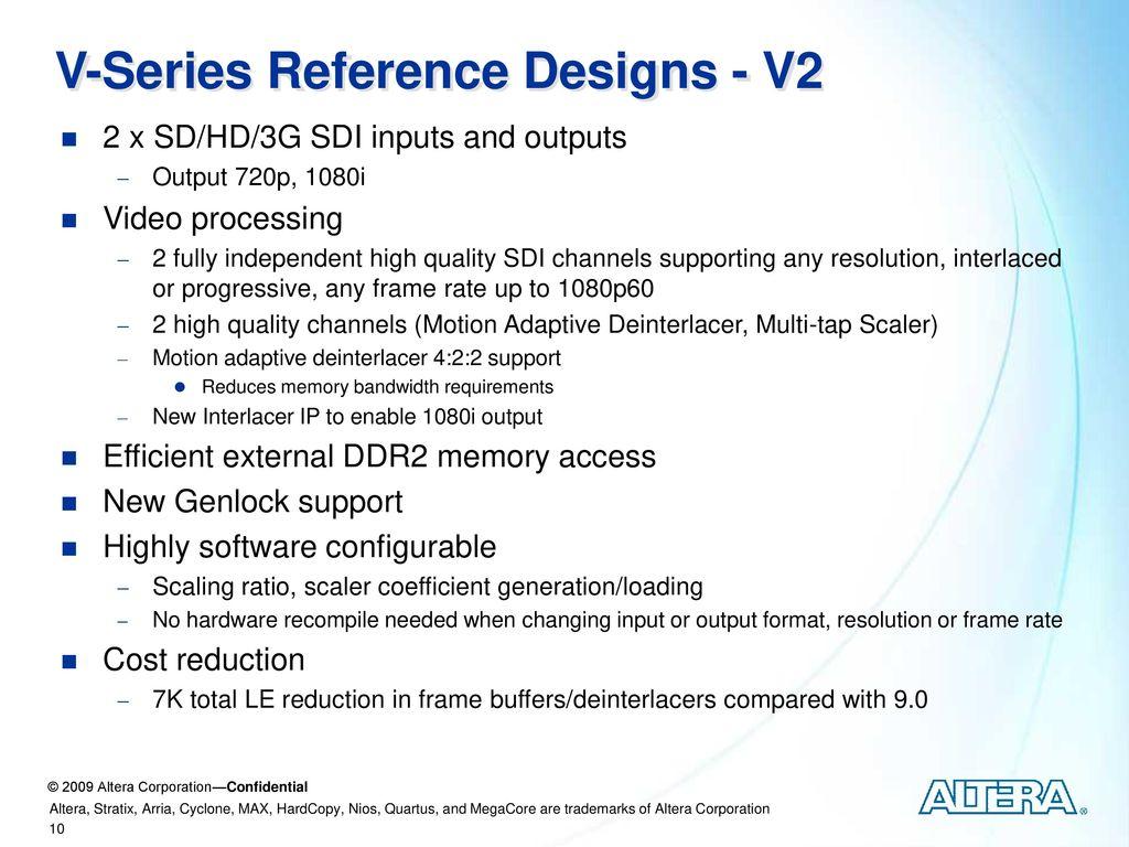 Cyclone V Reference Design