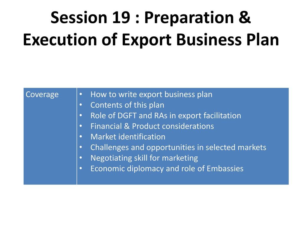 Introduction : Assessing Export Readiness/ Basic Steps for