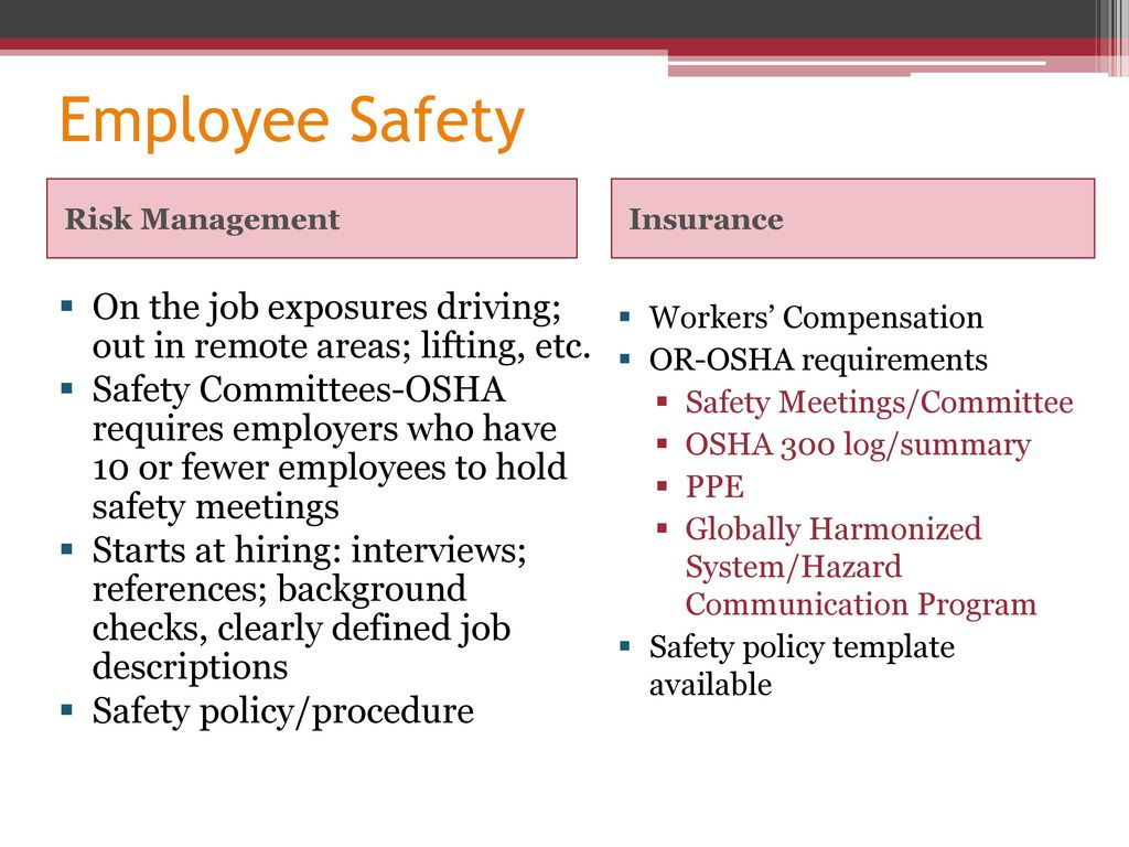 Insurance and Risk Management : Protecting Your Council - ppt download