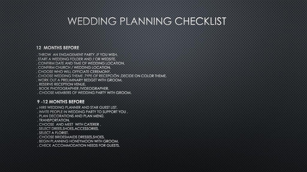 The business of weddings - ppt download