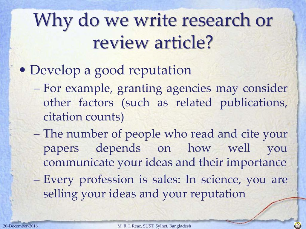 Science Essays Topics  Why Do We  Learning English Essay Writing also Reflective Essay Thesis Statement Examples Academic Writing Skills For Research Journal Article  Ppt Download Thesis Statement For Essay
