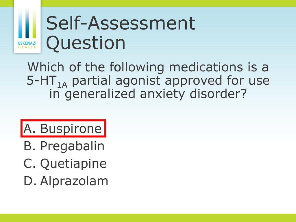 Pregabalin And Mirtazapine For Anxiety